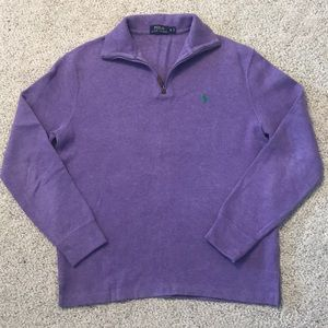 Polo Ralph Lauren 1/4 zip sweater.